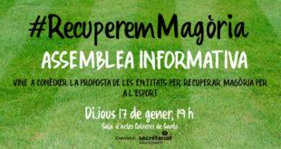 #RecuperemMagòria