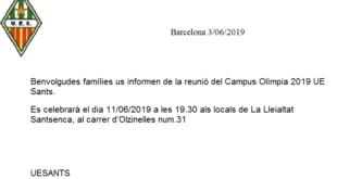 Presentació del Campus 2019